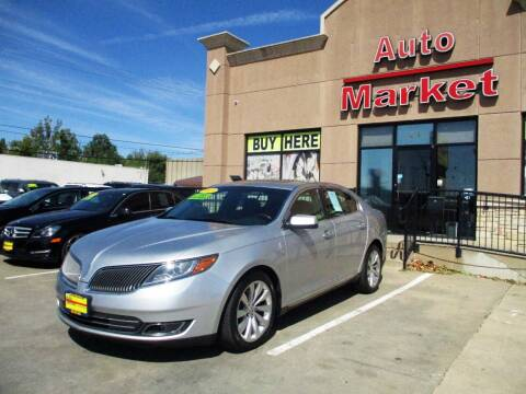2013 Lincoln MKS for sale at Auto Market in Oklahoma City OK