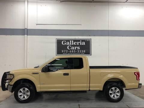 2016 Ford F-150 for sale at Galleria Cars in Dallas TX