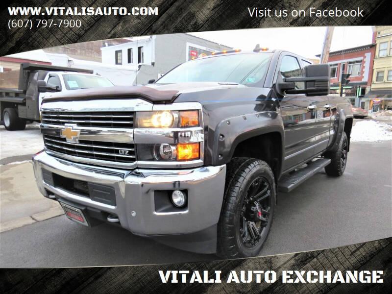 2015 Chevrolet Silverado 2500HD for sale at VITALI AUTO EXCHANGE in Johnson City NY