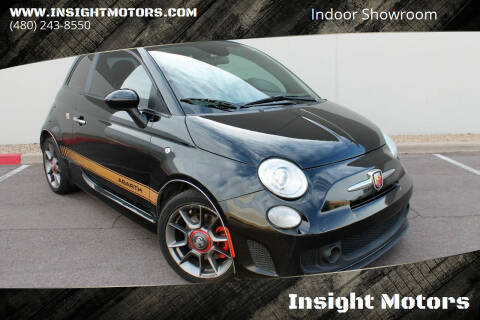 2015 FIAT 500c for sale at Insight Motors in Tempe AZ