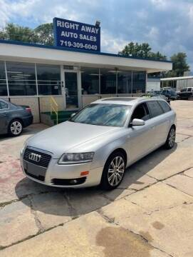2006 Audi A6 for sale at Right Away Auto Sales in Colorado Springs CO
