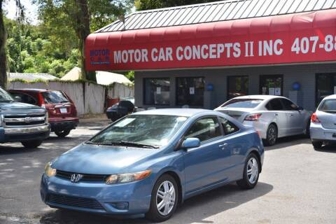 2007 Honda Civic for sale at Motor Car Concepts II - Colonial Location in Orlando FL