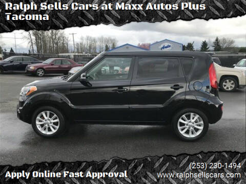 2013 Kia Soul for sale at Ralph Sells Cars at Maxx Autos Plus Tacoma in Tacoma WA