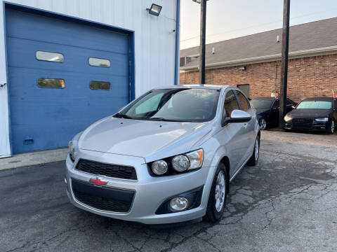 2012 Chevrolet Sonic for sale at Pulse Autos Inc in Indianapolis IN
