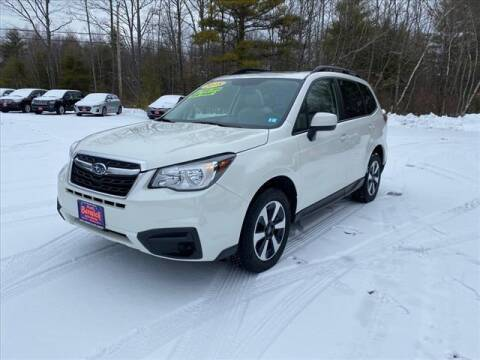 2018 Subaru Forester for sale at North Berwick Auto Center in Berwick ME