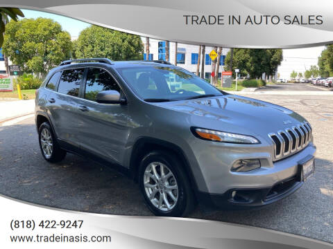 2014 Jeep Cherokee for sale at Trade In Auto Sales in Van Nuys CA
