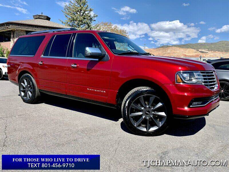 2017 Lincoln Navigator L for sale in Salt Lake City, UT