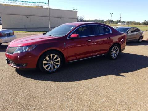 2013 Lincoln MKS for sale at Frontline Auto Sales in Martin TN
