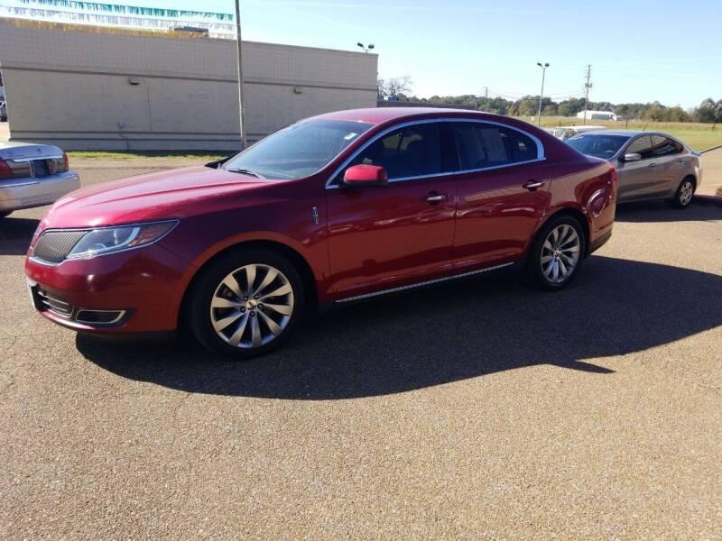2013 Lincoln MKS for sale at Frontline Auto Sales in Martin TN