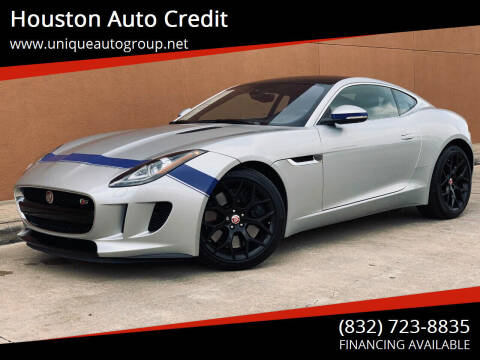 2017 Jaguar F-TYPE for sale at Houston Auto Credit in Houston TX