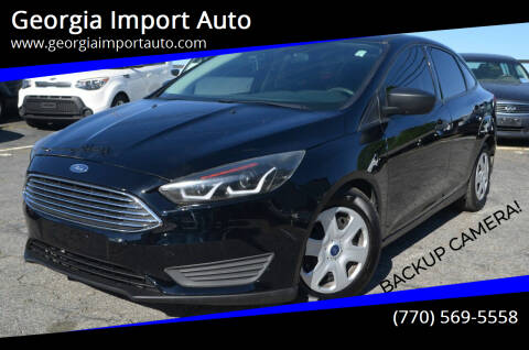 2016 Ford Focus for sale at Georgia Import Auto in Alpharetta GA