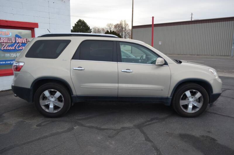 2009 GMC Acadia for sale at CARGILL U DRIVE USED CARS in Twin Falls ID