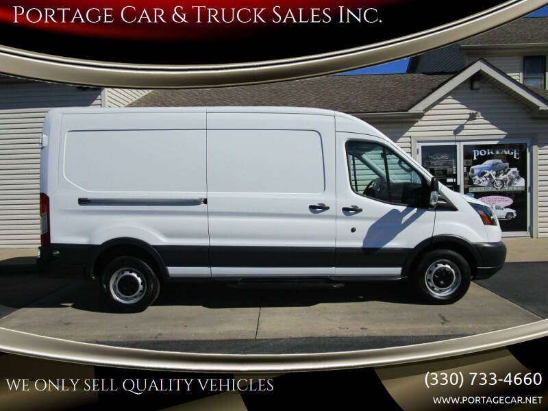 2015 Ford Transit Cargo for sale at Portage Car & Truck Sales Inc. in Akron OH