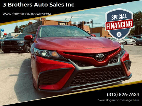 2021 Toyota Camry for sale at 3 Brothers Auto Sales Inc in Detroit MI