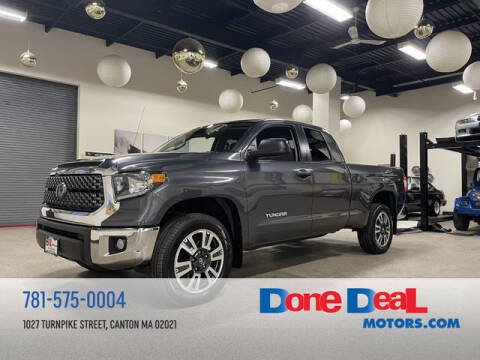 2018 Toyota Tundra for sale at DONE DEAL MOTORS in Canton MA