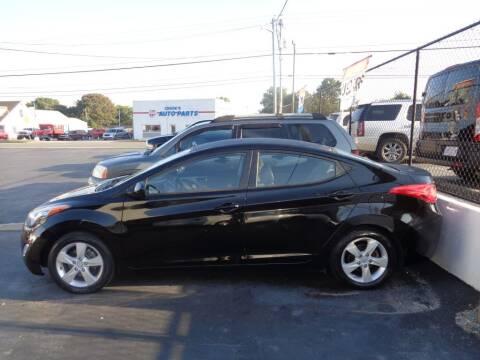 2012 Hyundai Elantra for sale at Cars Unlimited Inc in Lebanon TN