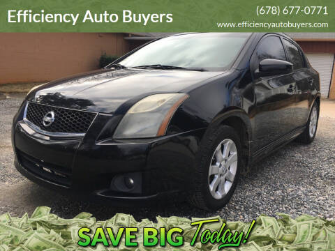 2010 Nissan Sentra for sale at Efficiency Auto Buyers in Milton GA