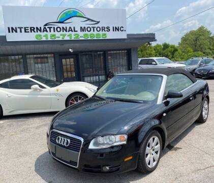 2007 Audi A4 for sale at International Motors & Service INC in Nashville TN