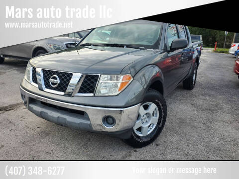 2006 Nissan Frontier for sale at Mars auto trade llc in Kissimmee FL
