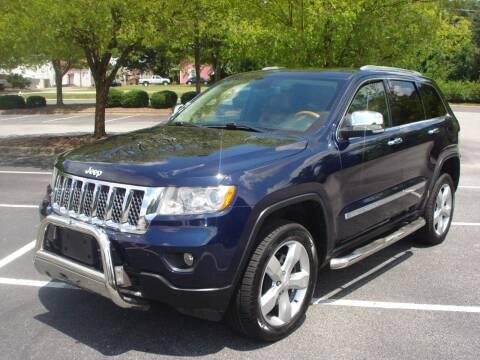 2012 Jeep Grand Cherokee for sale at Uniworld Auto Sales LLC. in Greensboro NC