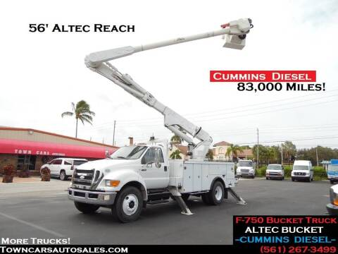 2009 Ford F-750 Super Duty for sale at Town Cars Auto Sales in West Palm Beach FL