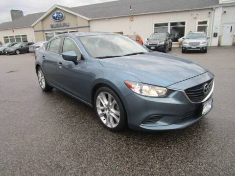 2017 Mazda MAZDA6 for sale at BELKNAP SUBARU in Tilton NH
