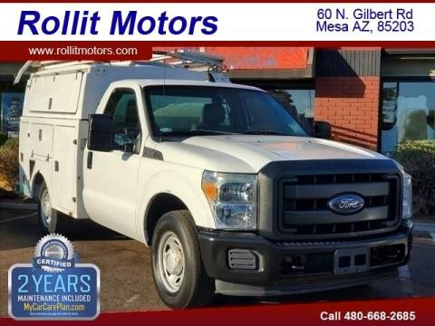 2013 Ford F-350 Super Duty for sale at Rollit Motors in Mesa AZ