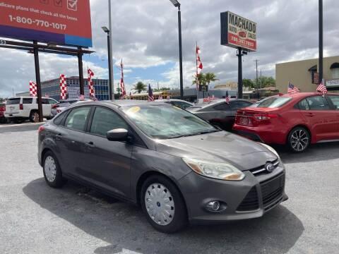 2012 Ford Focus for sale at MACHADO AUTO SALES in Miami FL