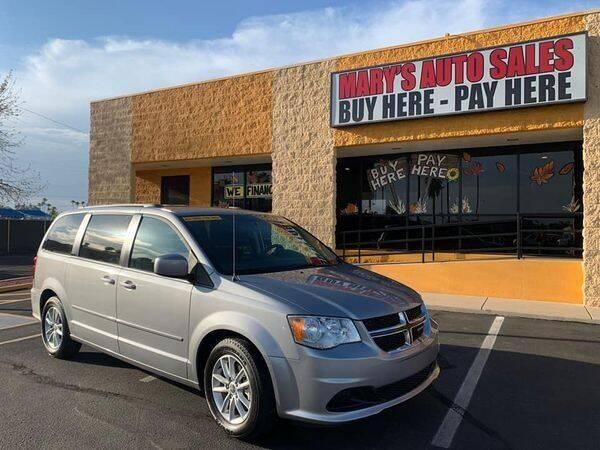 2015 Dodge Grand Caravan for sale at Marys Auto Sales in Phoenix AZ