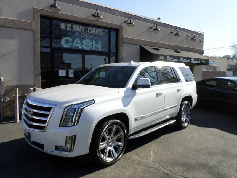 2016 Cadillac Escalade for sale at Wilson-Maturo Motors in New Haven Ct CT