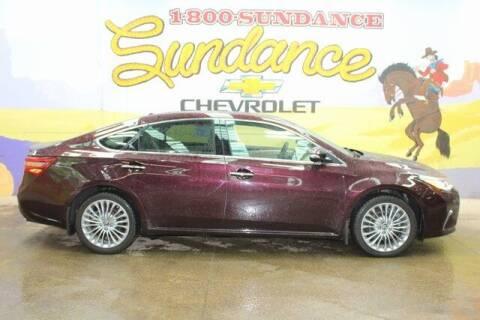 2018 Toyota Avalon for sale at Sundance Chevrolet in Grand Ledge MI