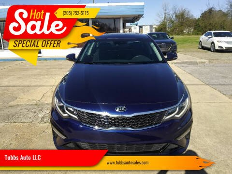 2019 Kia Optima for sale at Tubbs Auto LLC in Tuscaloosa AL