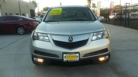 2012 Acura MDX for sale at El Guero Auto Sale in Hawthorne CA