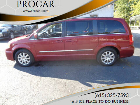 2013 Chrysler Town and Country for sale at PROCAR LLC in Portland TN
