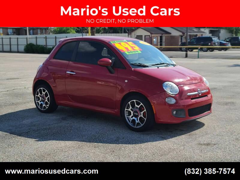 2013 FIAT 500 for sale at Mario's Used Cars - Pasadena Location in Pasadena TX