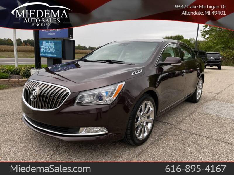 2015 Buick LaCrosse for sale at Miedema Auto Sales in Allendale MI