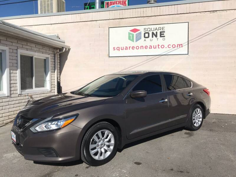 2016 Nissan Altima for sale at SQUARE ONE AUTO LLC in Murray UT