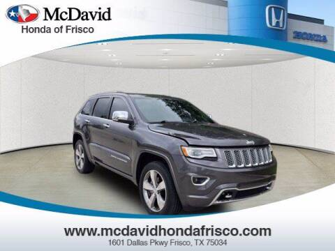 2016 Jeep Grand Cherokee for sale at DAVID McDAVID HONDA OF IRVING in Irving TX