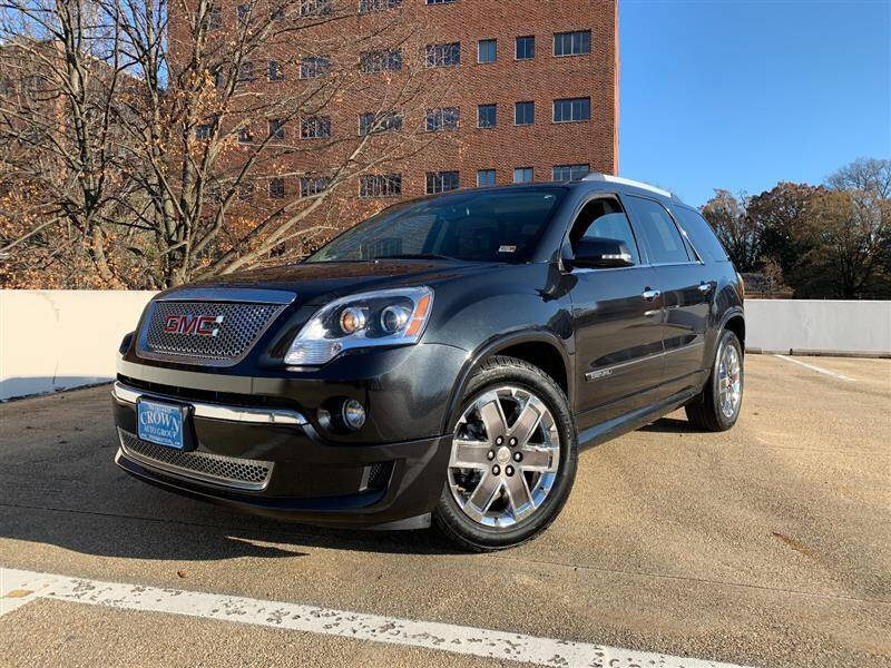 2011 GMC Acadia for sale at Crown Auto Group in Falls Church VA