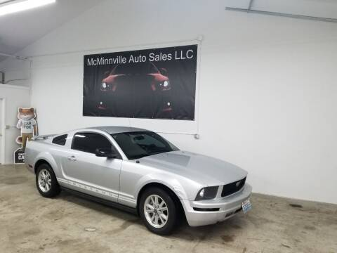 2006 Ford Mustang for sale at McMinnville Auto Sales LLC in Mcminnville OR