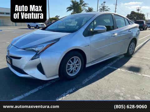 2017 Toyota Prius for sale at Auto Max of Ventura in Ventura CA