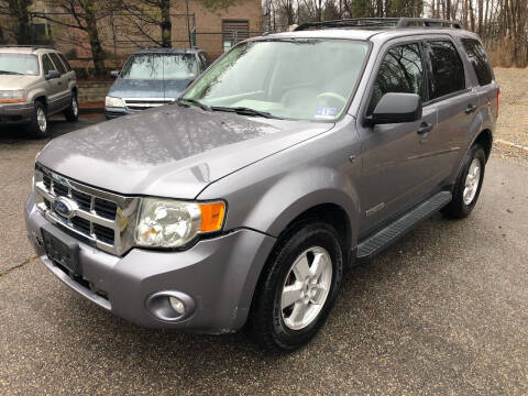 2008 Ford Escape for sale at Highlands Auto Exchange in Port Murray NJ