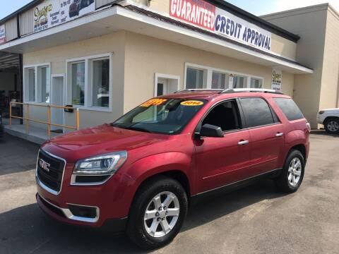 2014 GMC Acadia for sale at Suarez Auto Sales in Port Huron MI