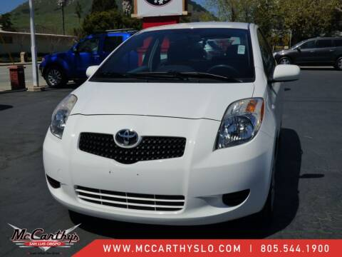 2007 Toyota Yaris for sale at McCarthy Wholesale in San Luis Obispo CA