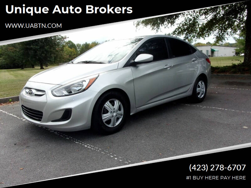 2015 Hyundai Accent for sale at Unique Auto Brokers in Kingsport TN