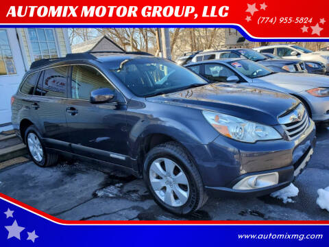 2011 Subaru Outback for sale at AUTOMIX MOTOR GROUP, LLC in Swansea MA