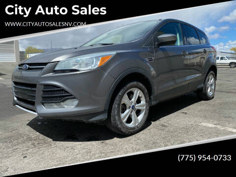 2013 Ford Escape for sale at City Auto Sales in Sparks NV