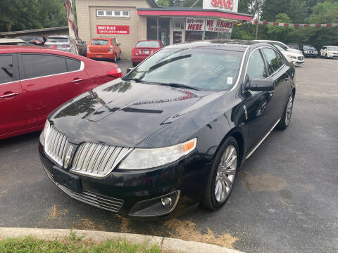 2012 Lincoln MKS for sale at Right Place Auto Sales in Indianapolis IN