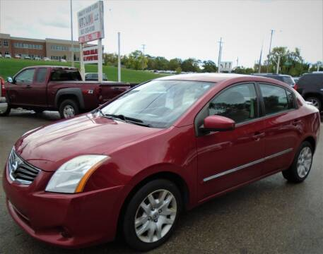 2011 Nissan Sentra for sale at AutoLink LLC in Dayton OH