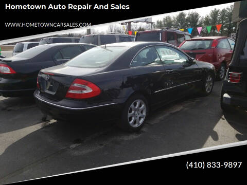 2004 Mercedes-Benz CLK for sale at Hometown Auto Repair and Sales in Finksburg MD